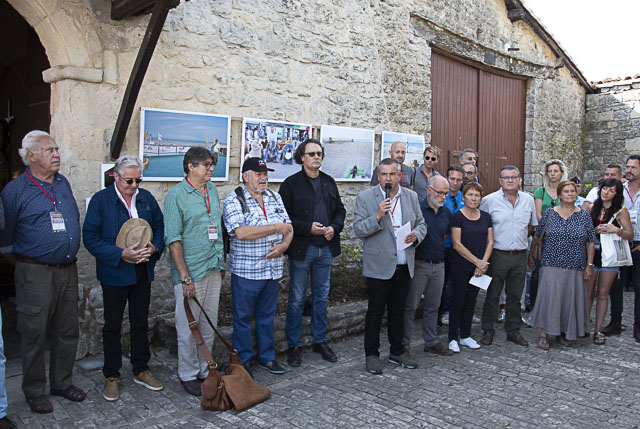 Le discours d'inauguration