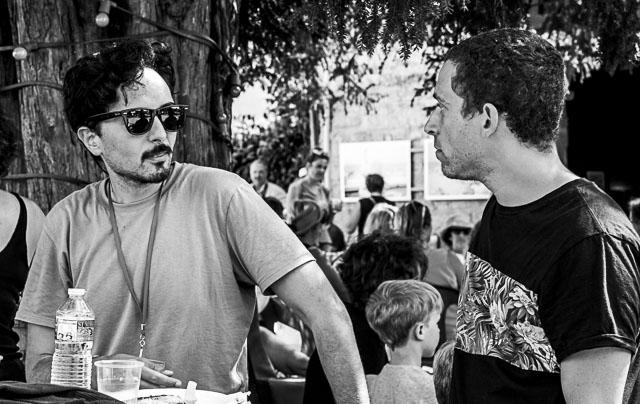 Seif Kousmate et Anthony Micallef