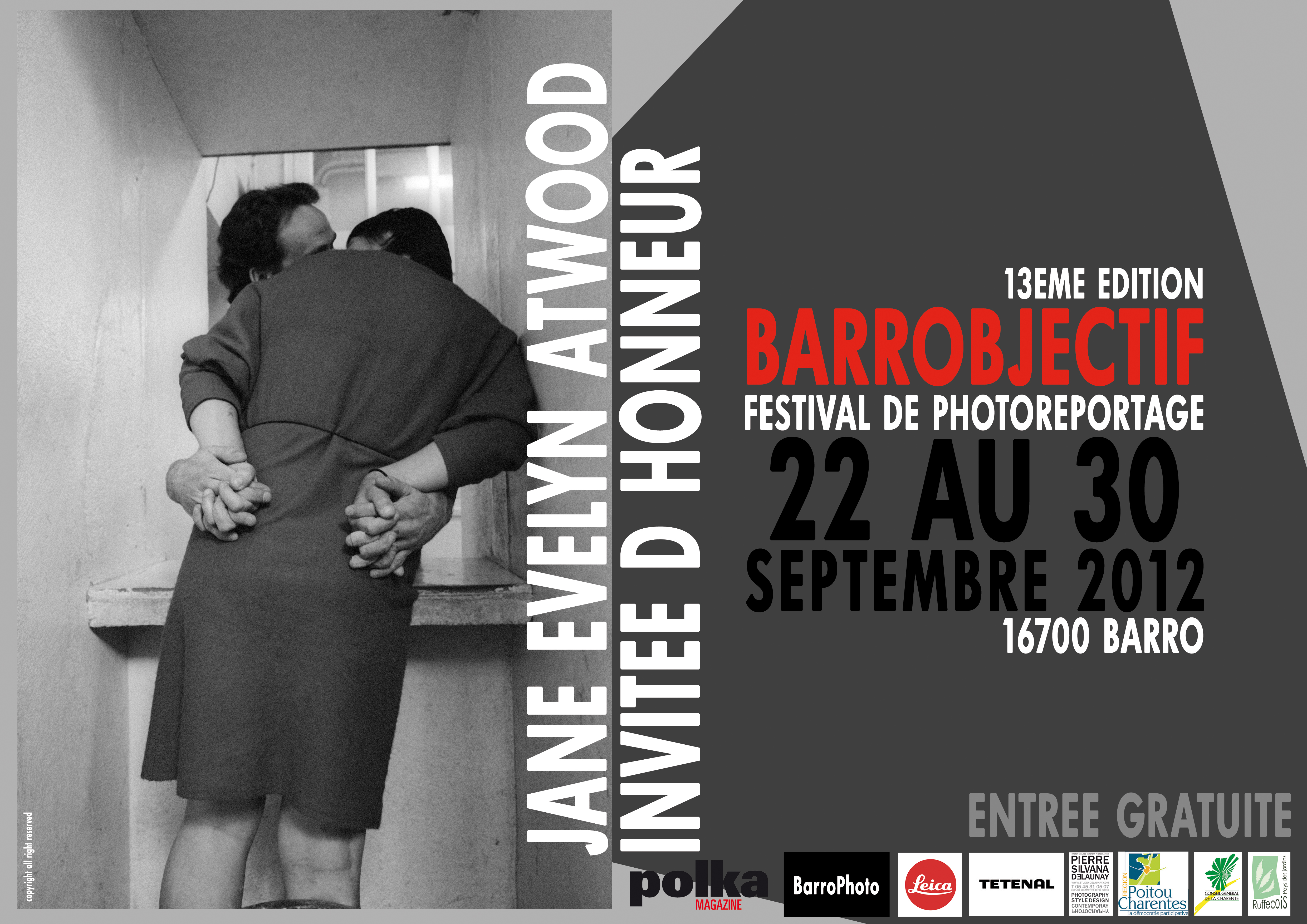 Affiche Barrobjectif 2012