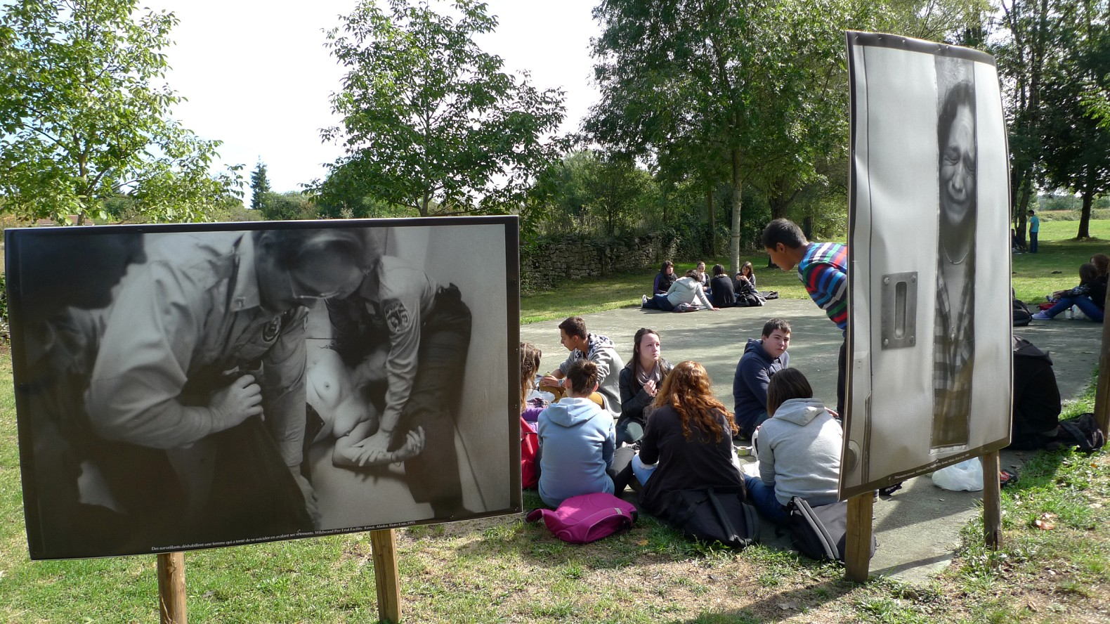Pic nic photographique expo J E Atwood-border