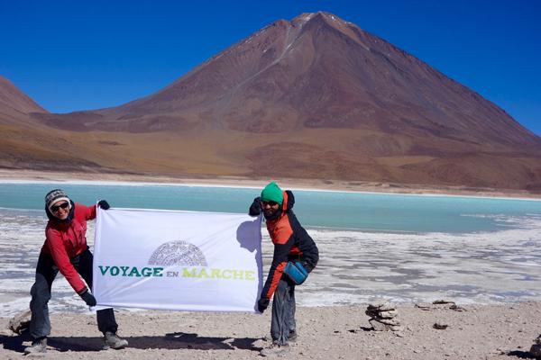 L'arrivée au pied du volcan Licancabur marque la fin de notre périple en Bolivie