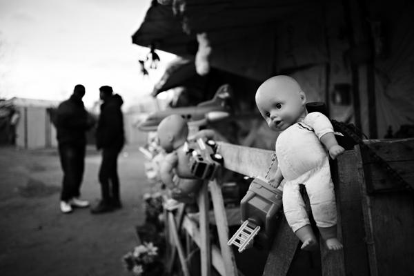 Calais19©Belle-Croix. Philippe-Les migrants