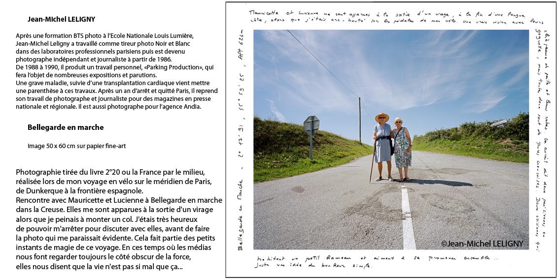 Mauricette et Lucienne à Bellegarde, Creuse.