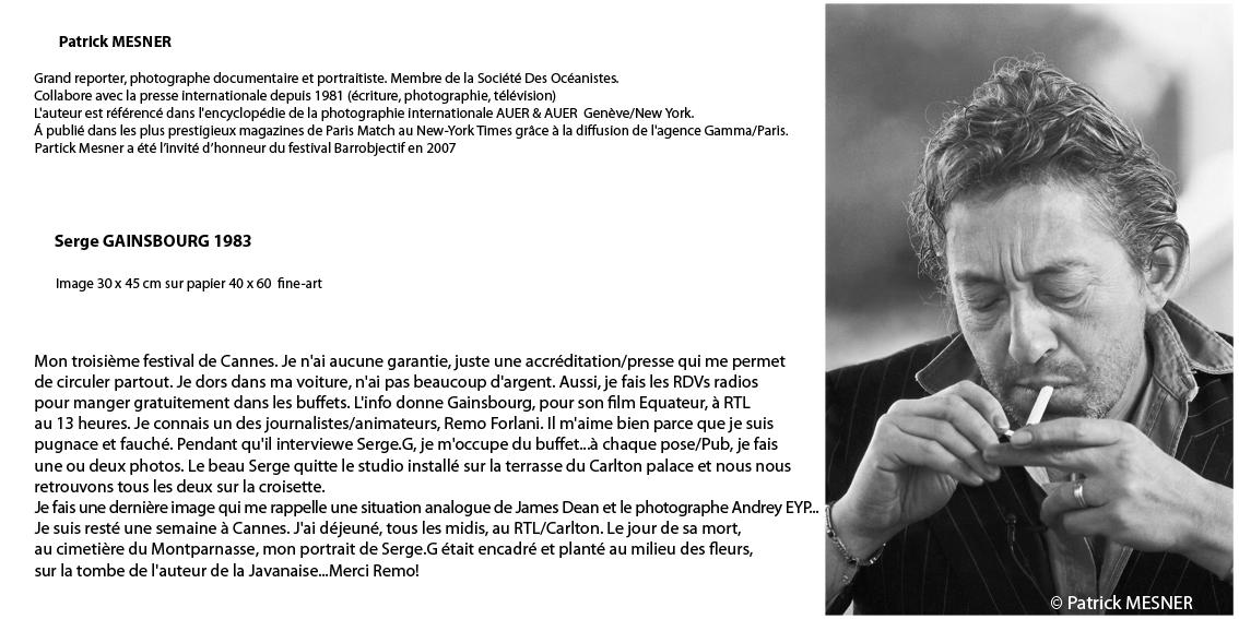Serge Gainsbourg 1983