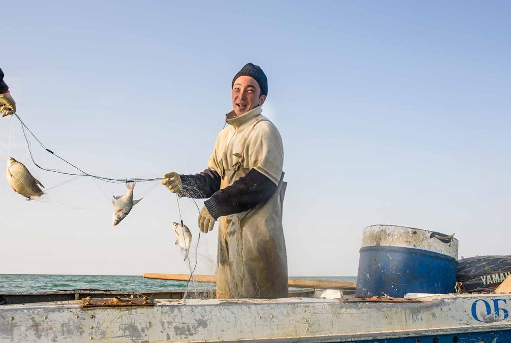 Mer d 'Aral