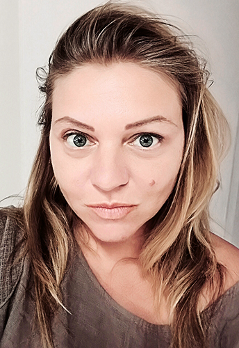Portrait de la photojournaliste Aude Osnowycz