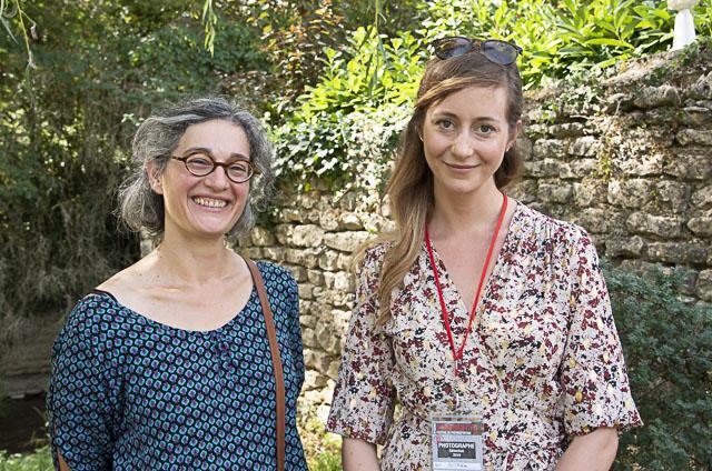 Hélène Barit et Kasia Streck
