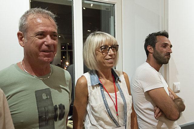 Jean-Daniel Guillou, Brigitte Viaud et Yohan Bonnet