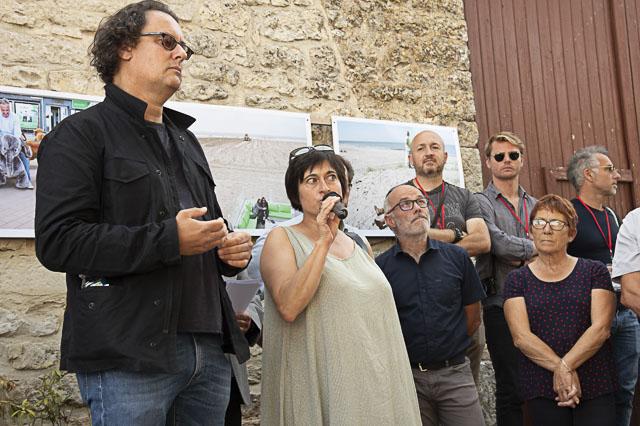 Paolo Pellegrin et Aurélie Lacouchie