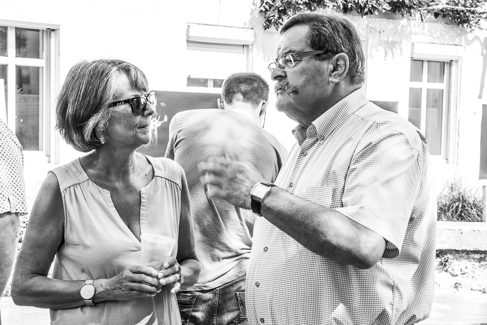 Françoise et M. Charbonneau