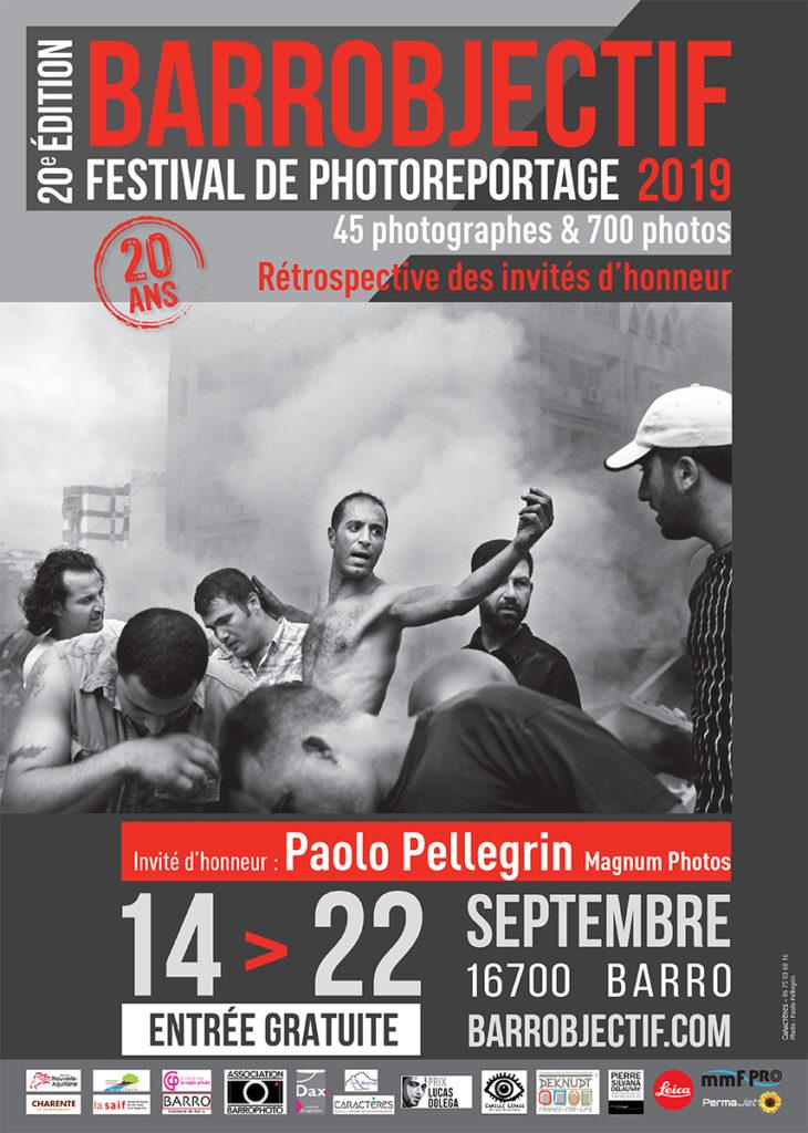 Affiche Barrobjectif 2019-Invité d'honneur Paolo Pellegrin