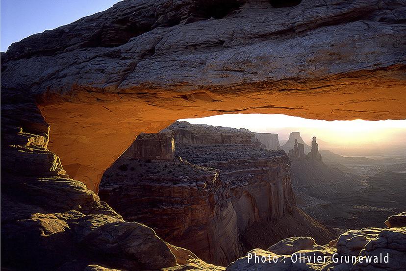 Falaises -Parc National de Canyonland