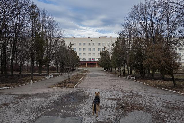 sur les chemins de l'oubli. Donetsk-Ukraine
