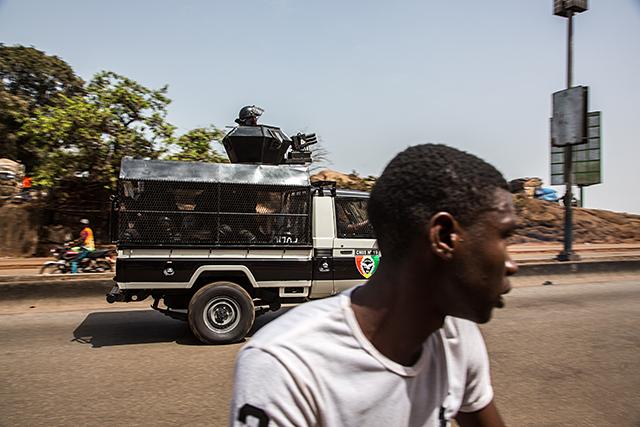 Les manifestations à Conakry
